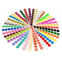 etichete simple colorate