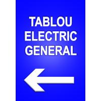 indicatoare directie tablou electric general