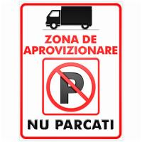 indicatoare pentru zona de aprovizionare