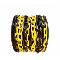 lant din plastic galben cu negru