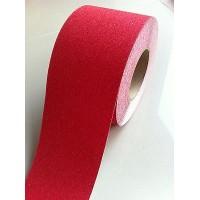 banda adeziva antiderapanta rosu