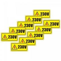 Etichete pentru prize 230V
