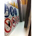 panouri personalizate pentru protectie lucrari