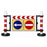 bariera pentru trafic si lucrari de protectie