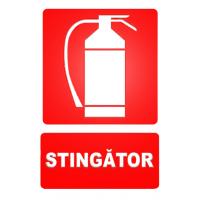 indicatoare pentru stingatoare