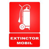 indicatoare pentru extinctoare mobile