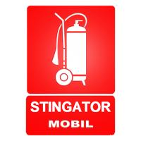 indicatoare pentru stingatoare mobile