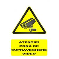 indicatoare pentru supraveghere video