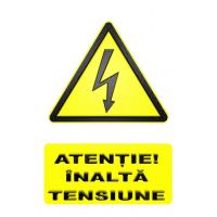 indicatoare pentru inalta electricitate