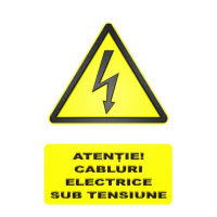 indicatoare pentru cabluri si fire de electricitate