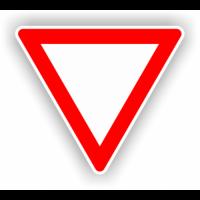 indicatoare pentru cedeaza trecerea