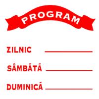 indicatoare pentru program