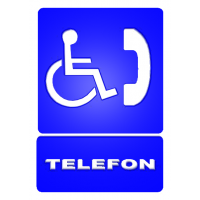 indicatoare telefon pentru persoane cu dizabilitati