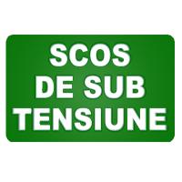 indicatoare scos de sub tensiune