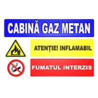 indicatoare pentru cabina gaz metan